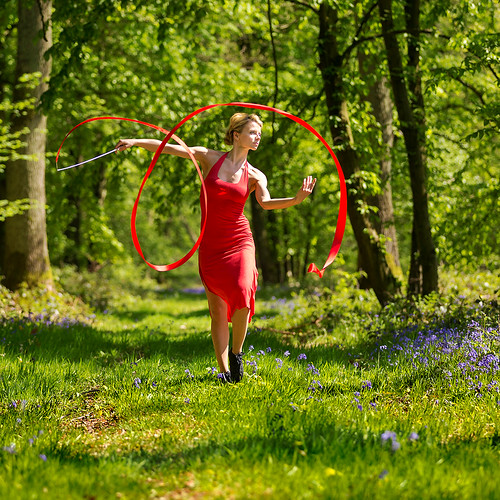 Dances with bluebells # 4
