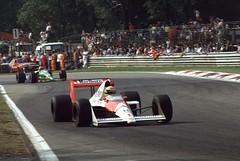 Ayrton Senna, Monza 1988 (slide converted to digital) (giuliominoja) Tags: senna formula1 formulaone monza ayrtonsenna f1