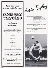 Leyton Orient vs Halifax Town - 1989 - Page 22 (The Sky Strikers) Tags: leyton orient halifax town barclays league division four brisbane road official programme 70p