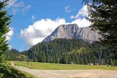 Ehrwalder Alm (09) - Zugspitzmassiv von der österreichischen Seite