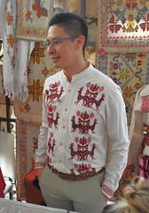 Mexico Oaxaca Artisans Mazahua (Ilhuicamina) Tags: oaxaca mazahua embroidery jancristhianmataferrer camisa textiles gente hombre