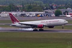 N846AX (PM's photography) Tags: poznan lawica eppo poz poland airport airfield aerodrome omni air international n846ax boeing b777 b772 b777200 aircraft airline plane jet 777 spotting