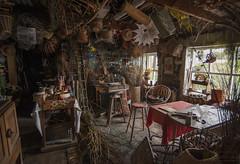 Crafty Basket (barpilot) Tags: cornwall porthleven harbour workshop basket crafts handmade skills