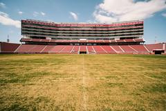 50 Yard Line, Levi's Stadium (bior) Tags: 49ers sanfrancisco49ers levisstadium football stadium santaclarastadium 50yardline fujifilmxt3 venuslaowa9mm venuslaowa santaclara bayarea sanfranciscobayarea laowa