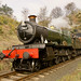 7802 Bradley Manor emerges from Bewdley Tunnel