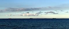 Back home to St Kilda (dw*c) Tags: stkilda victoria australia travel trip nikon picmonkey melbourne sea seascape shore beach landscape landscapes clouds cloud