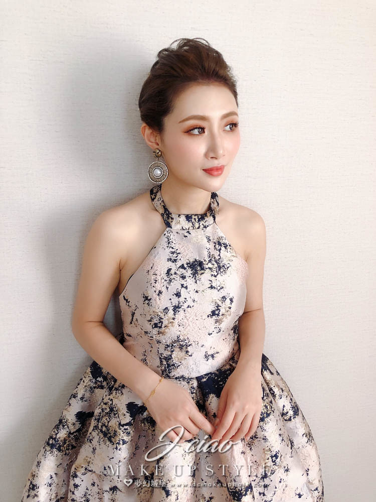 【新秘婕喬】bride徐紜 新娘婚紗造型