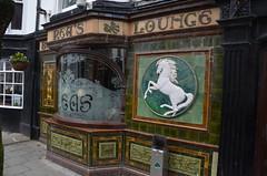 (Sam Tait) Tags: aberystwyth wales building glazed tile brick pup inn public house ale