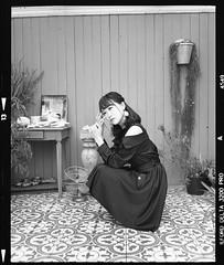Sena (seeaurora) Tags: トラベリー撮影会 フィルム 自家現像 selfdevelopment model portrait ペンタックス67 イルフォード タクマー