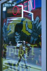 Open Spirit (klauslang99) Tags: klauslang streetphotography advertisement neon signs flashy toronto