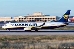 Ryanair Boeing 737-8AS  |  EI-FTM  |  LMML (Melvin Debono) Tags: ryanair boeing 7378as | eiftm lmml cn 44763 melvin debono spotting canon eos 5d mark iv 100400mm plane planes photography airport airplane aviation aircraft malta mla