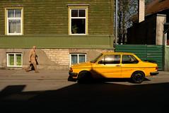 Yellow Car (Andrii Mur) Tags: tallinn estonia leicax1 ngc streetphotography