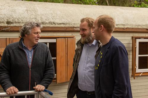 Besuch von Jugendkulturarbeit e.V. in Donnerschwee mit Ulf Prange MdL.