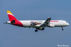 "[ORY] Iberia ""Cantabria Livery"" Airbus A321-200 _ EC-IJN (thibou1) Tags: thierrybourgain ory lfpo orly spotting aircraft airplane nikon d810 tamron sigma cantabrialivery iberia airbus airbusa321 a321 a321212 landing ecijm mad lemd"