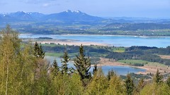 Bannwaldsee und Forggensee (Sanseira) Tags: allgäu forggensee bannwaldsee lech buching grünten