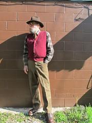 5-3-2019 Today's Clothes (Michael A2012) Tags: this mans spring style vintage fashion stetson 3x beaver gun club hat fur felt shenendoah cotton resilio silk serge wool us army dr martens