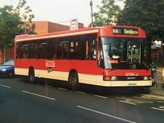 J316 BVO (nevetsyam1404) Tags: trentmotortraction trentbuses trent sb220 daf dafsb220 optaredelta optare delta b49f 316 j316bvo