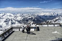 2765  Pic du Midi de Bigorre, Pirineo Francés (Ricard Gabarrús) Tags: montañas montanyes nieve nubes monte altura cielo altamontaña frio ricardgabarrus olympus ricgaba