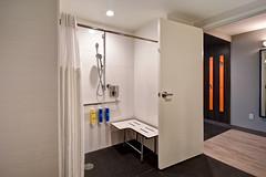 Tru Hotel - Deadwood, SD (consolidated.construction) Tags: consolidatedconstructionco tru hotel hilton deadwood south dakota sd handicap bathroom