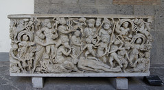 The creation of man by Prometeus (kate223332) Tags: archeology museum napoli italy art history sculpture marble antiquity creationofman prometeus sarcophagus