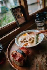 GRIII (楚志遠) Tags: 楚志遠 凍先生 生活 美食 nikon df griii 麋谷 migu village 屏東 恆春 早午餐 咖啡廳 飯糰 咖哩 50mm f14d