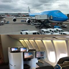 KLM 695 Seat 72J, EHAM-CYYZ. PH-BFW Boeing 747-406(M) 30454 (CanAmJetz) Tags: aircraft airplane queenoftheskies upperdeck jumbo kl695 cyyz ams eham 747406m boeing klm phbfw