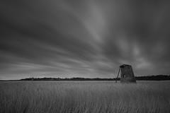 Water pump (m.clarke photography) Tags: walberswick dunwich suffolk waterpump windpump longexposure blackandwhite landscape