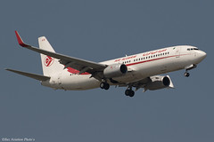 7T-VKN (Baz Aviation Photo's) Tags: 7tvkn boeing 7378d6 air algerie dlh ah heathrow egll lhr 09l ah2054