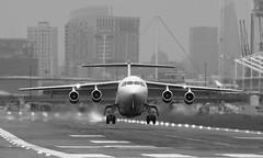 LCY (Treflyn) Tags: london city airport bae 146 cityjet avro rj85 eirjd air aer lingus flight dublin lcy dub