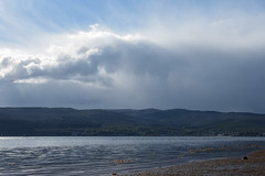 sky horse (werewegian) Tags: lunderston bay gourock river clyde cowal beach werewegian may19 cloud horse