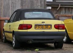 P938 OBJ (Nivek.Old.Gold) Tags: 1996 ford escort calypso 16v cabriolet 1597cc essexford billericay basildon