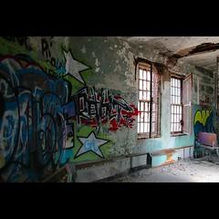 Revolting (CaptJackSavvy) Tags: graffiti urbandecay urbanexploration urbanspelunking urbex urbanex decay abandonedbuilding abandoned trespassing
