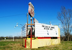 Clark 54 Drive-In - Summer Hill, Illinois (Cragin Spring) Tags: drivein driveintheatre abandoned theatre outdoor illinois il midwest unitedstates usa unitedstatesofamerica rural clark54 clark54drivein pikecounty pikecountyil pikecountyillinois summerhill summerhillil summerhillillinois