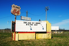 Clark 54 Drive-In - Summer Hill, Illinois (Cragin Spring) Tags: drivein driveintheatre abandoned theatre outdoor illinois il midwest unitedstates usa unitedstatesofamerica rural clark54 clark54drivein marquee sign pikecounty pikecountyil pikecountyillinois summerhill summerhillil summerhillillinois