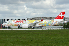 HB-JCA (PlanePixNase) Tags: eddv haj hannover airport aircraft planespotting hbjca swiss fichtre cs300 cseries bombardier langenhagen