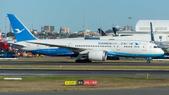 Xiamen Air Boeing 787-800 B-2760 at Sydney Airport (greenyones) Tags: air boeing xiamen dreamliner 787800 sydney airport b2760