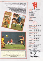 Manchester United vs Wolverhampton Wanderers - 1983 - Page 3 (The Sky Strikers) Tags: manchester united wolverhampton wanderers wolves canon league division one review official season programme old trafford 30p