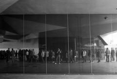 The Mirror - Madrid - April 2014 (cava961) Tags: madrid analogue analogico monocromo monochrome bianconero bw
