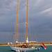 Sail ship at Palmeira harbour