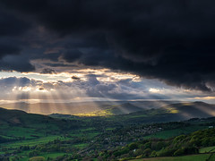 Eye of the storm (Stephen Elliott Photography) Tags: hopevalley peakdistrict hathersage derbyshire evening sunset storm olympus em1 12100mm kase filters spring