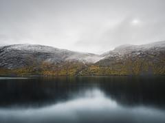 Stausee in Norwegen (1 von 1) (steck138) Tags: landscape norway water reservoir landscapephotography gooutside goplayoutside travel nature rainy herbst fall longtimeexposure