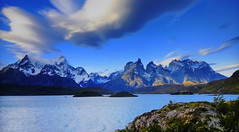 PATAG0NIA (Jacques Rollet (Little Available)) Tags: patagonia lac lake montagne mountain ciel sky nuage cloud snow neige groupenuagesetciel