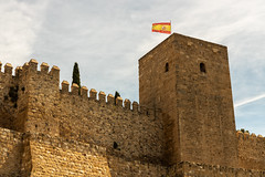 Antequera  010519-1108 (Eduardo Estéllez) Tags: antequera alcazaba tower castle andalusia architecture travel tourist malaga europe rural historic historical heritage interest cultural landmark wall history village spanish sightseeing fortress fort white city construction world indoor town destination monument charming strength good medieval attraction tourism spain battlements crenellated walls moorish muslim flag wave wind cloudy estellez eduardoestellez