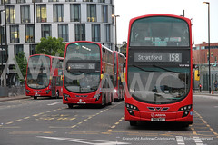 IMG_0831-010519 (andrewcolebourne) Tags: london londonbus transportforlondon towertransit arrivalondon stratford busstation vn36132 bj11dsx route473 vn36143 bh11eaf route262 vlw908 bn61mxx route158 volvo b9tl wright gemini