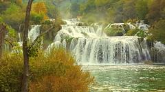 Nationalpark - KRKA (Zwischenrast) Tags: flus wasserfälle kroatien nationalpark
