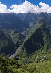Grand Bassin, Reunion / Долина Гран Басен, Реюньон (dmilokt) Tags: природа nature пейзаж landscape гора mountain долина ущелье обзор valley gorge overview дорога road dmilokt