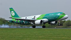 EI-DEO (AnDyMHoLdEn) Tags: aerlingus a320 irishrugby egcc airport manchester manchesterairport 05r