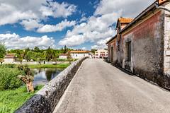 05-Vieux pont de Bourdeilles (Alain COSTE) Tags: 2019 bourdeilles dordogne dronne nikon ocb périgordvert rivière sigma20mmf14 printemps village france