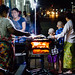 Nighttime Street Food Stall, Mandalay Myanmar