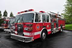 Warwick Township Fire Company Tower 66 (Triborough) Tags: pa pennsylvania montgomerycounty hatfield wtfc warwicktownshipfirecompany firetruck fireengine towerladder tower ladder ladder66 tower66 sutphen